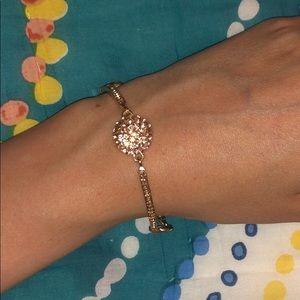 Gold Plated Bracelet CZ
